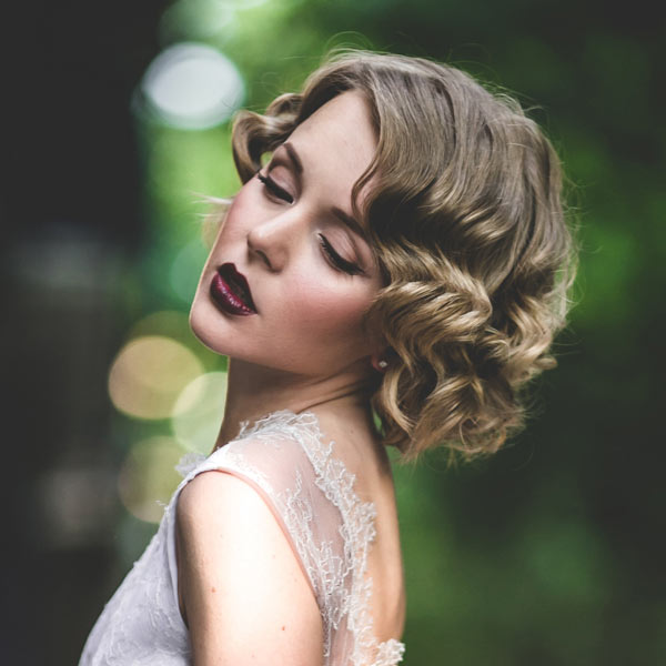 Holiday Hairstyle The Great Gatsby Look For Short Amp Long
